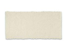 Gesamtansicht Teppich «Doppia Bianco»