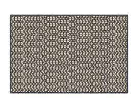 Gesamtansicht Seite A Teppich «Salix Anthracite»