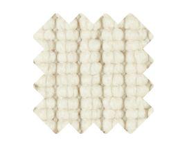 Muster zu Teppich «Doppia Bianco»