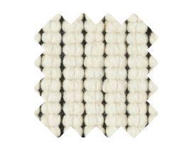 Muster zu Teppich «Doppia Nero»
