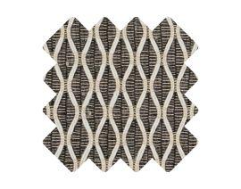 Muster zu Teppich «Salix Anthracite»