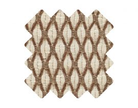 Muster zu Teppich «Salix Cappuccino»