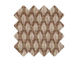 Muster zu Teppich «Salix Nougat»