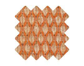 Muster zu Teppich «Salix Orange»