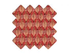 Muster zu Teppich «Salix Raspberry»