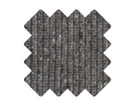 Muster zu Teppich «Tilia Anthracite»