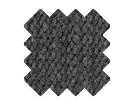 Muster zu Teppich «Viscum Anthracite»