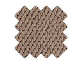 Muster zu Teppich «Viscum Nougat»