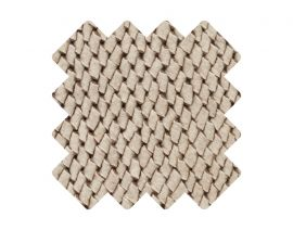 Muster zu Teppich «Viscum White»