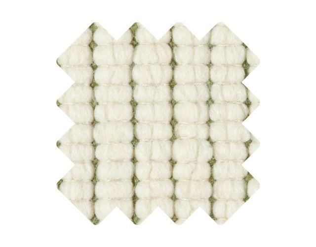Muster zu Teppich «Doppia Verde»