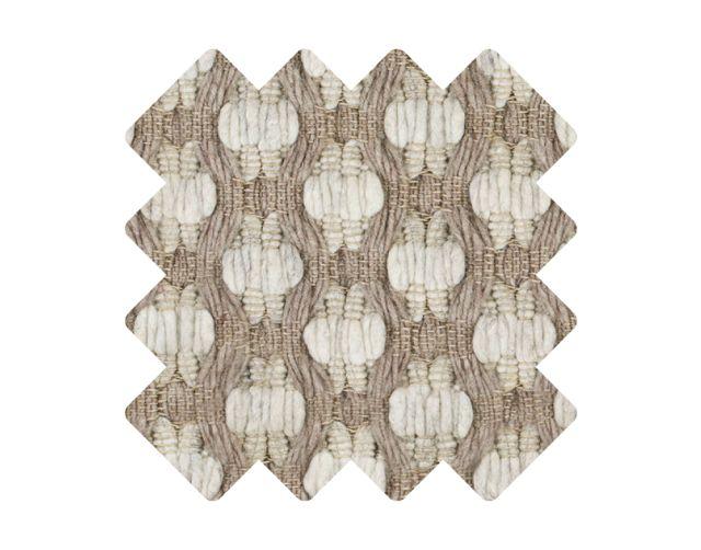 Muster zu Teppich «Fagus Creme»