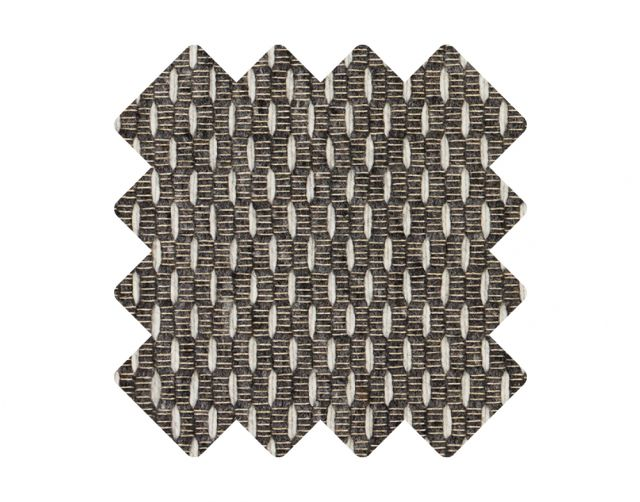 Muster zu Teppich «Pinus Anthracite»