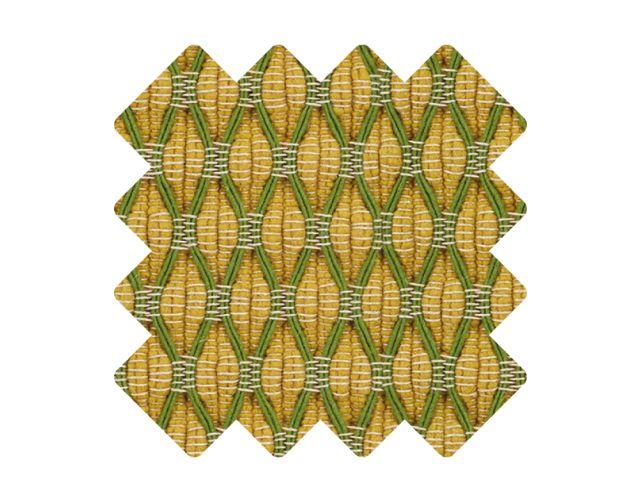 Muster zu Teppich «Salix Yellow»