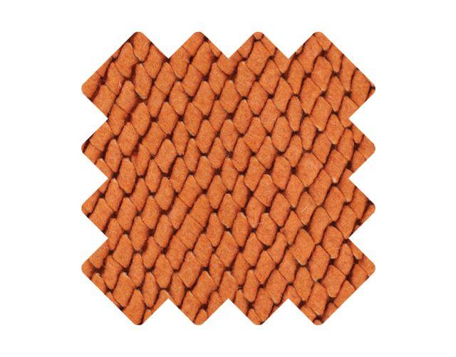 Muster zu Teppich «Viscum Orange»