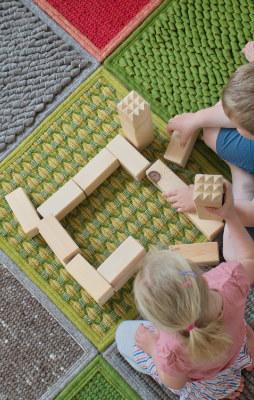 Teppich im Kinderzimmer