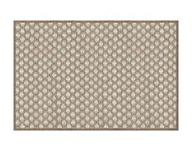 General view of side A «Fagus Creme» rug