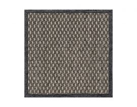 General view of side A «Pinus Anthracite» rug