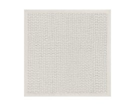 General view of side A «Ribes White» rug