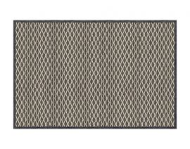 General view of side A «Salix Anthracite» rug