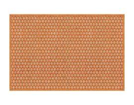 General view of side A «Salix Orange» rug