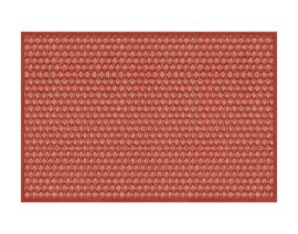 General view of side A «Salix Raspberry» rug