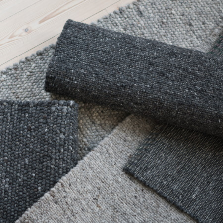 Dirt impervious grey rug module