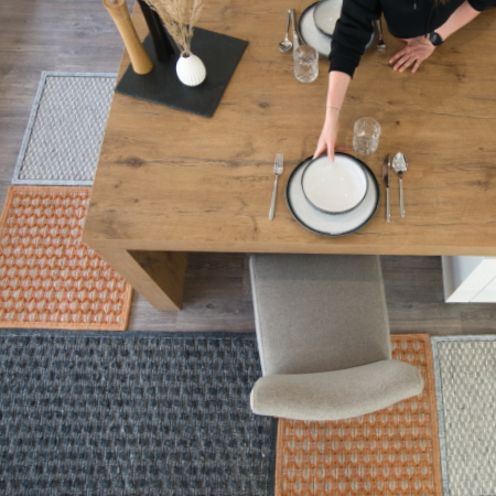 Rugs in the kitchen